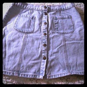 Urban Outfitters denim mini skirt size large